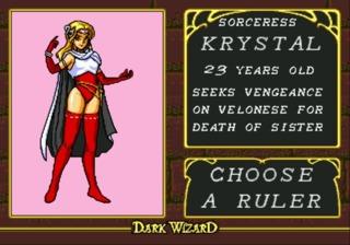 Krystal - Chaotic Sorceress