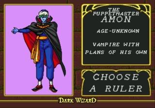 Amon - Undead Vampire Lord
