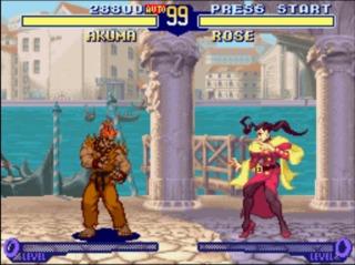 Akuma vs. Rose - Street Fighter Alpha