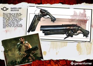 The new sawed-off shotgun