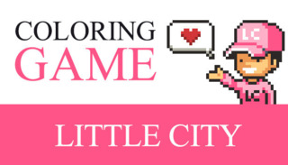 Coloring Game: Little City