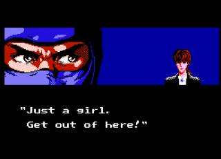 One of the many cutscenes that the game is famous for.