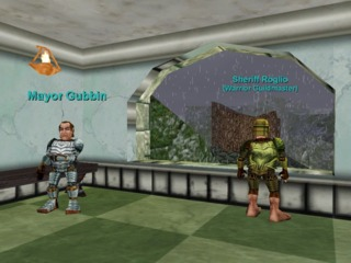 Mayor Gubbin & Sheriff Roglio