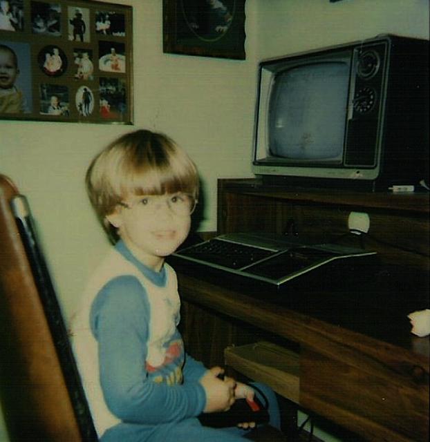 TI-99/4A circa 1985