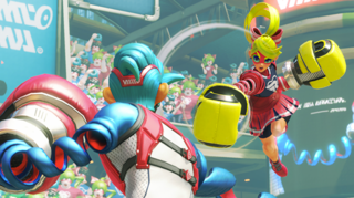 Ribbon Girl's mid-air jumps make her one of the more agile characters in the game.