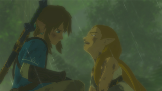 An assortment of cutscenes feature voice-over work (except for Link).