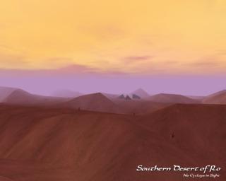 Southern Desert of Ro