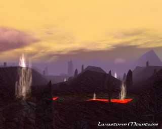 Lavastorm Mountains