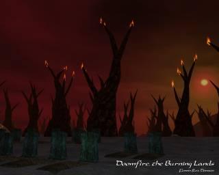 Doomfire, the Burning Lands
