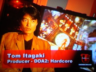 Behind the Scenes - Tom Itagaki