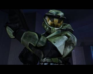 The game's main protagonist and SPARTAN super-soldier,