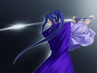 Assassin preparing to execute Tsubame Gaeshi