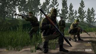 Militia, an irregular army.