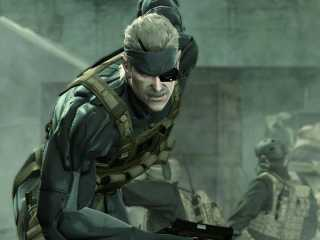 Solid Snake, a disillusioned soldier.