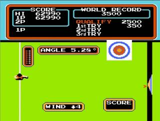Archery was added after the original arcade release.
