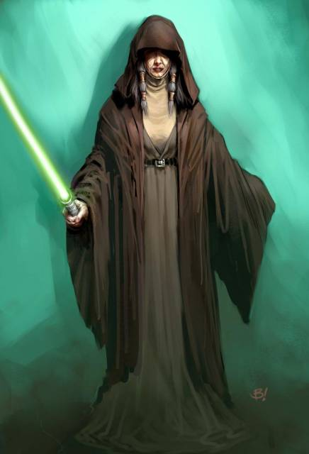 Kreia, a major character in The Sith Lords