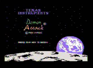 Screenshot from Demon Attack