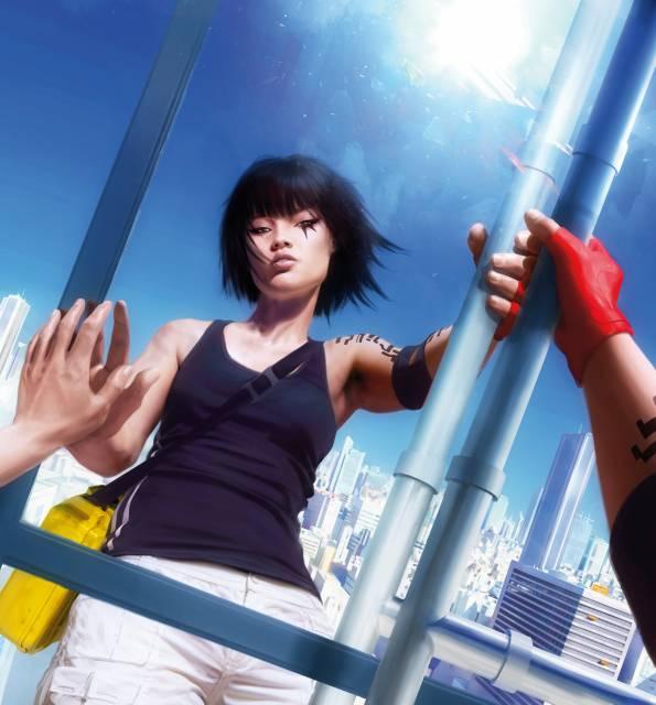 Faith, the protagonist of Mirror's Edge.