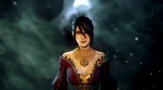 E3 2013 DAI Trailer - Morrigan in an Orlesian dress