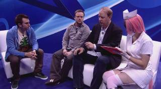 E3 2013 - Divekick Interview with Dave Lang on the Sony stage live-stream