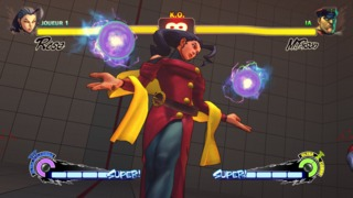 Rose's Ultra 2 in the Street Fighter IV series, the Soul Satellite