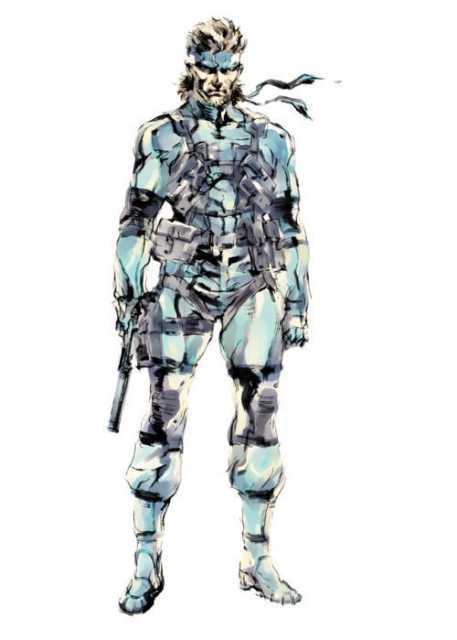 Solid Snake - Metal Gear Solid 2