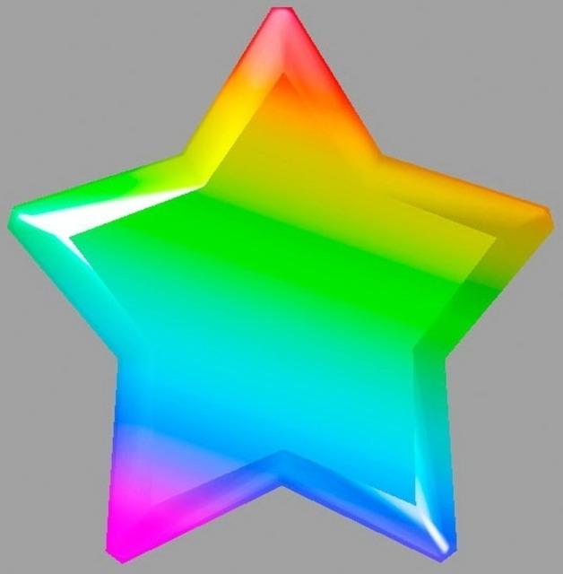 Rainbow Star from both Super Mario Galaxy games.