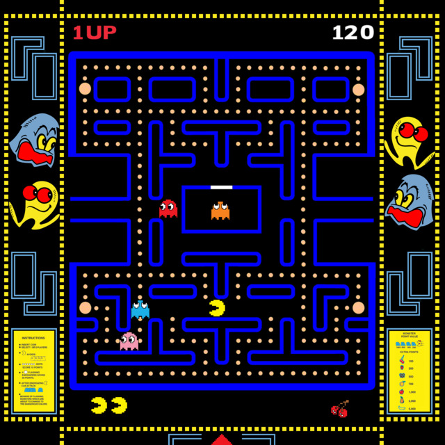 Pac-man's early days