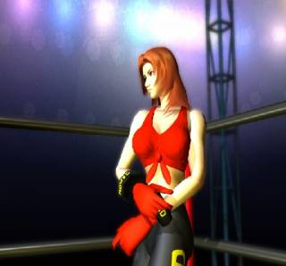 Screen from the original Dead or Alive.