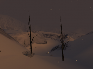 D2 features large, snowy open environments.