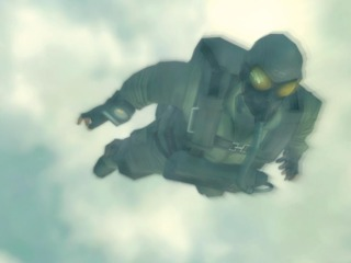 Naked Snake's HA-LO jump