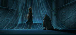 Ashera awakens and confers with Lehran.