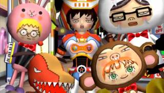 U-1 as Gitaroo Man with the Animarru.