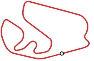 The track follows a counter-clockwise flow.