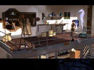 April Ryan's art studio in Stark, as seen in The Longest Journey.