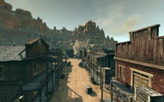 Bound in Blood Features many great Western Enviroments.