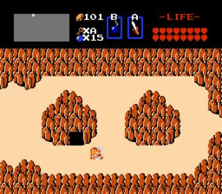 Death Mountain, as seen in The Legend of Zelda.