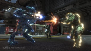 A fight between a Spartan and an Elite online