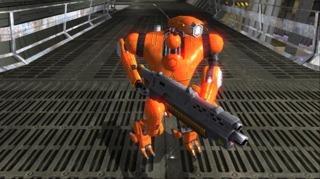 HR-V, Seth's robotic pal.