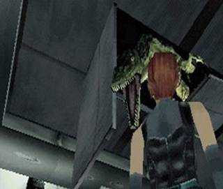 Like Resident Evil, Dino Crisis includes many jump-scare moments