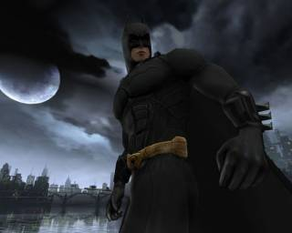 The Dark Knight rises....
