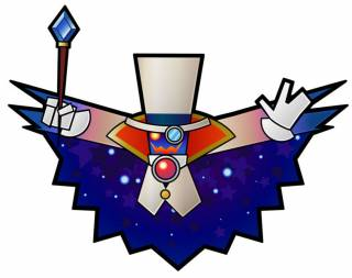 Count Bleck, the villain in Super Paper Mario.