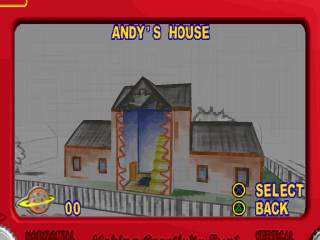 Example level select screen.