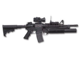 M4 Carbine With Mounted M-203