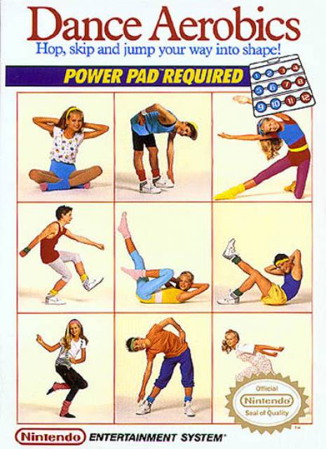 Dance Aerobics is one of the earliest examples of a fitness-themed video game.