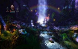 Trine's art design is really beautiful to take in, despite employing the oft-cliche medieval motifs.