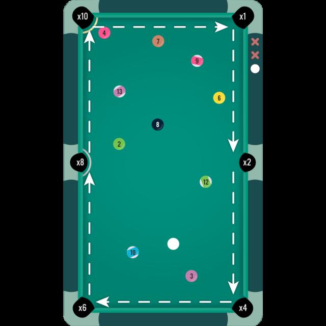Pocket-Run Pool