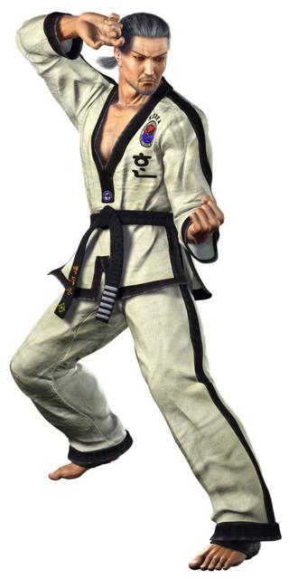 Baek as he appears in Tekken 5