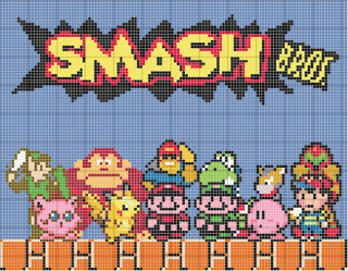 The original cast of characters in the Smash Bros franchise.