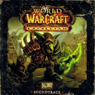 The cover art for the soundtrack disc